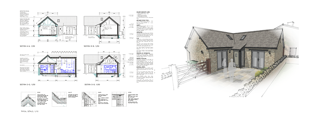 Conversion of existing stone building to residential dwelling with off street parking